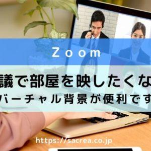 zoom会議で背景のぼかし方 専用ソフトでバーチャルメイクも